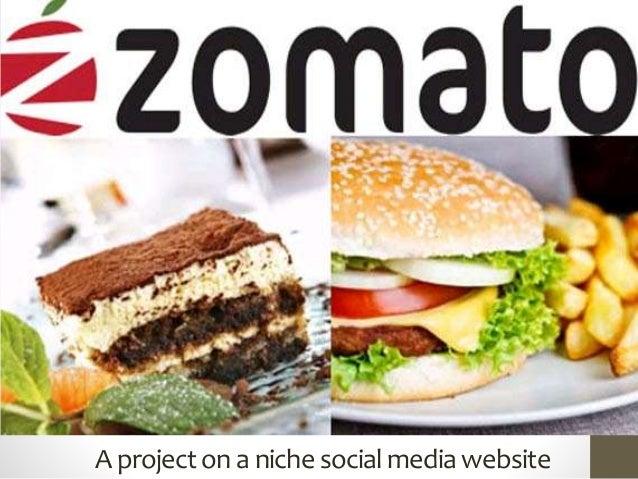 A projecton a nichesocialmediawebsite