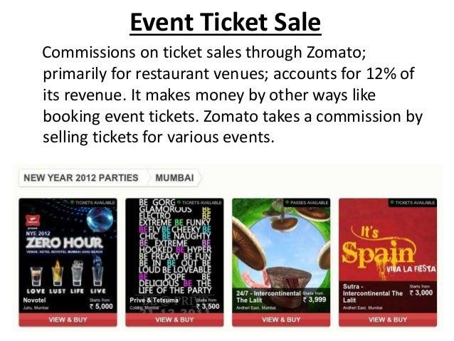Zomato revenue analysis