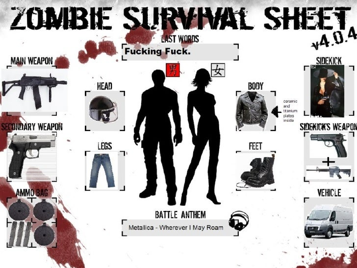 20 Useful Tips For Surviving A Zombie Apocalypse