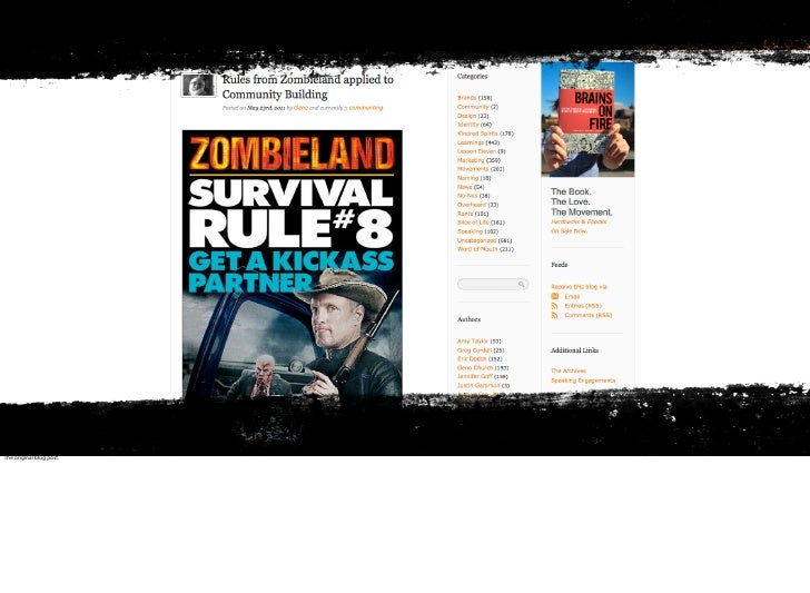 10 Rules for your Community to Survive a Zombie Attack… Slide 3