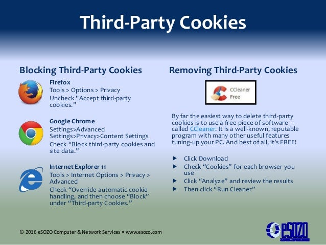 Internet cookies collector of personal information