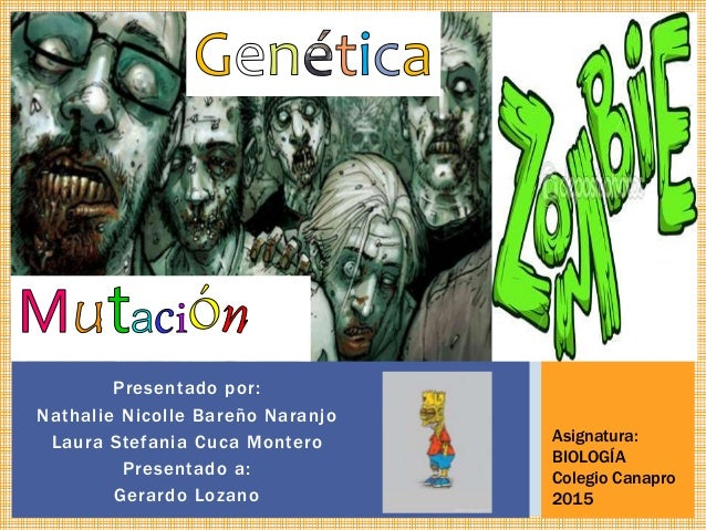 Presentado por: Nathalie Nicolle Bareño Naranjo Laura Stefania Cuca Montero Presentado a: Gerardo Lozano Asignatura: BIOLO...