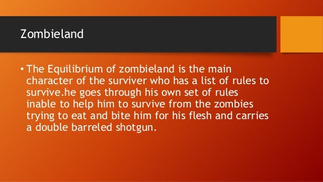 zombieland rules list