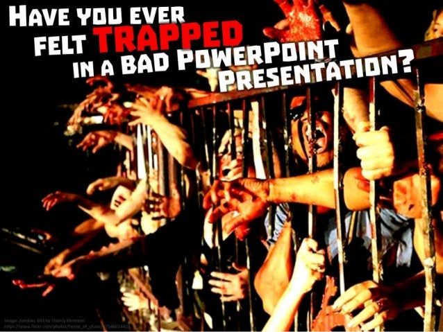 Zombie PowerPoint by @ericpesik Slide 2