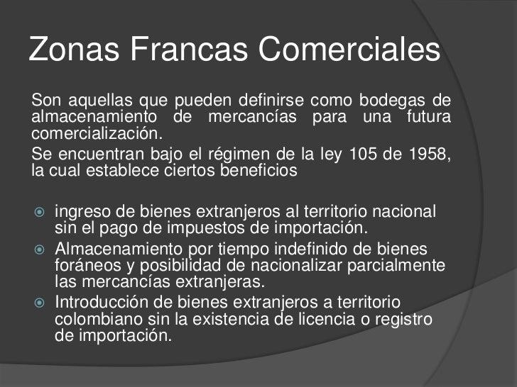 Zonas Francas de ServiciosTecnológicosPara promover y desarrollar empresasde base tecnológicas, orientadas a laexportación...