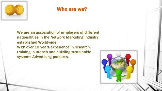 Zona Network English Business Plan Slide 2