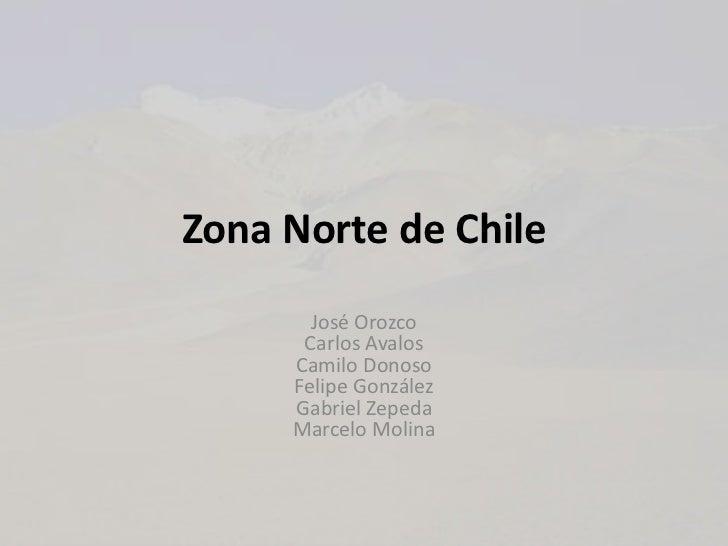 Zona norte de chile for Marmoles y granitos zona norte