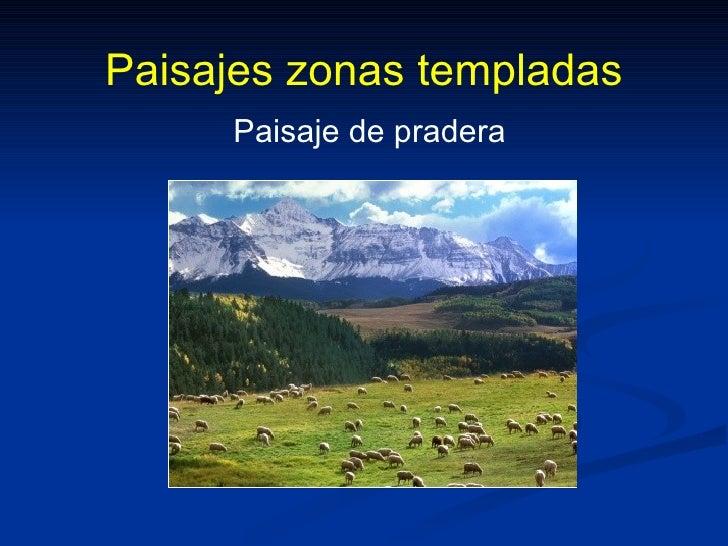 Zonas clim ticas y paisajes - Tipos de paisajes ...