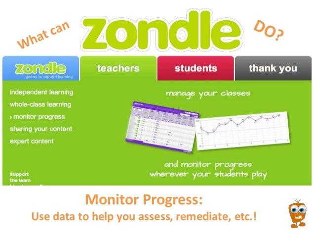 Zondle Summer 2013 PD Slides