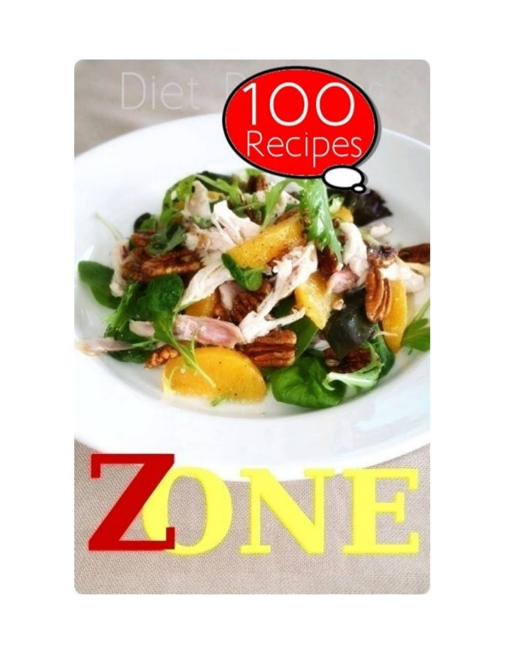 Table of ContentsI.    The Zone Diet   Jennifer Aniston's Typical Daily DietII. Recipes