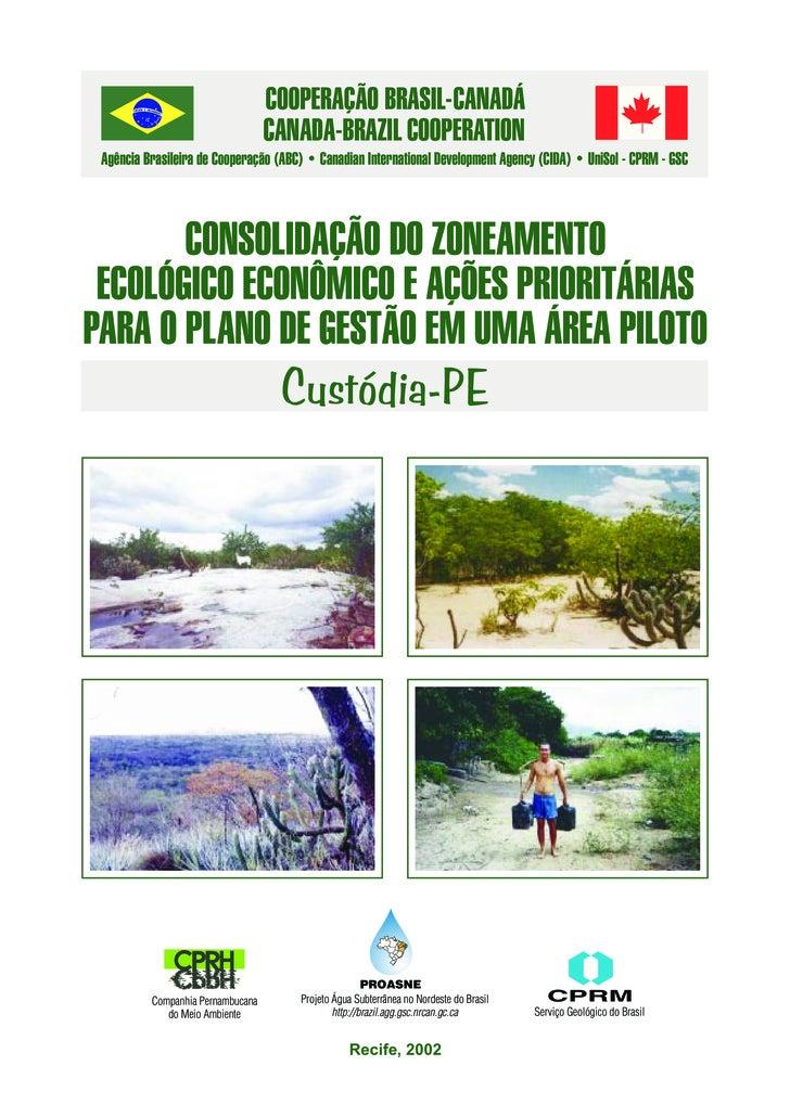 COOPERAÇÃO BRASIL-CANADÁ                                    CANADA-BRAZIL COOPERATION  Agência Brasileira de Cooperação (A...