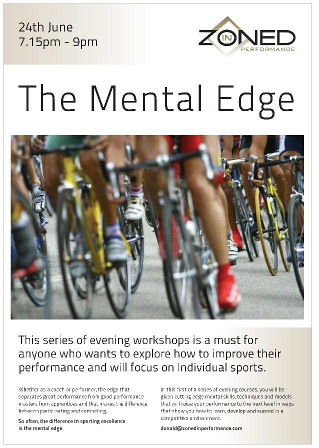 "'The Mental Edge"""