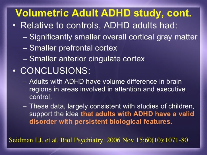about adult adhd 2006