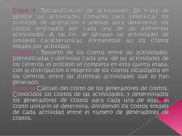 Zonificación ABC