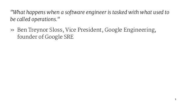 SRE in Startup Slide 3
