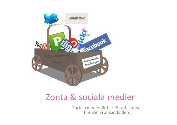 MSN                  Google                                   mera.  Zonta & sociala medier           Soci...
