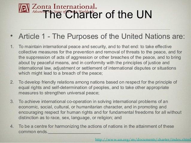 article 103 about un charter