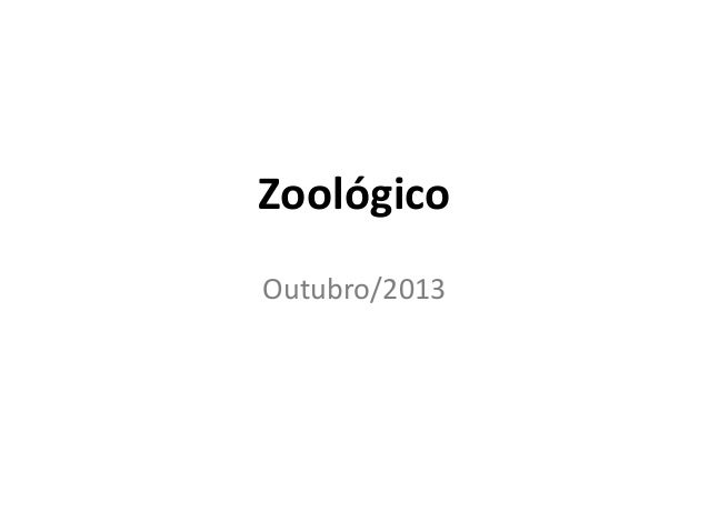 Zoológico Outubro/2013