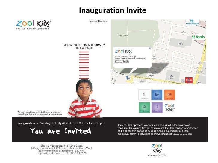 Inauguration Invite