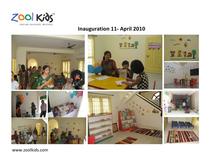 www.zoolkids.com Inauguration 11- April 2010