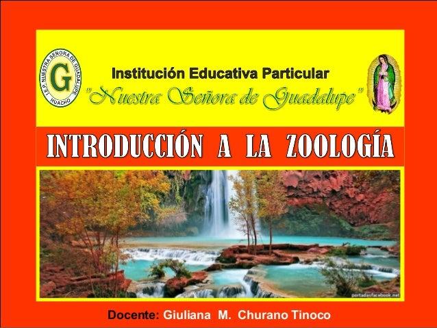 Docente: Giuliana M. Churano Tinoco