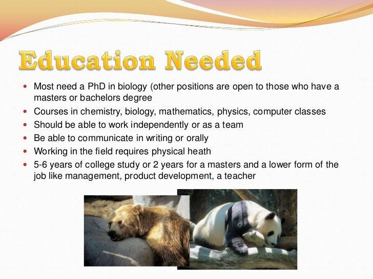 zoology degree - Ex