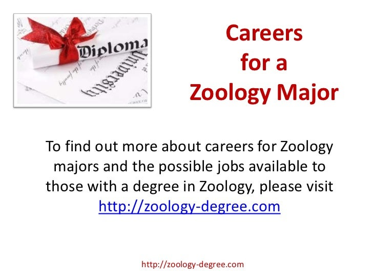 a career as a zoologist essay