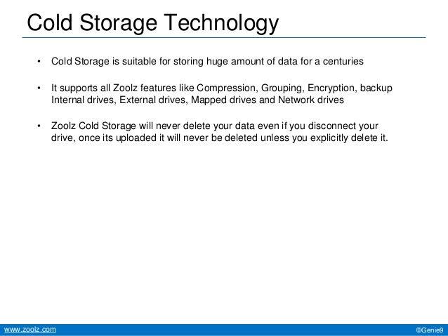 Cold Storage Technology ...  sc 1 st  SlideShare & Zoolz Cloud overview with Cold Storage Technology (A-Z)