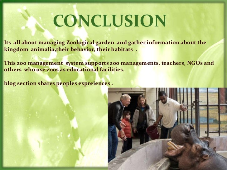 Zoo Management System