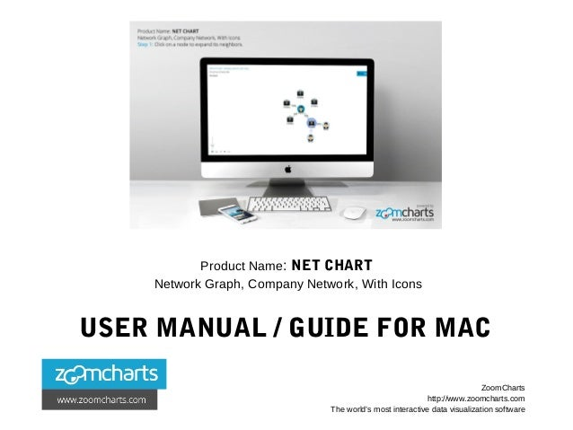 Product Name: NET CHART Network Graph, Company Network, With Icons USER MANUAL / GUIDE FOR MAC ZoomCharts http://www.zoomc...