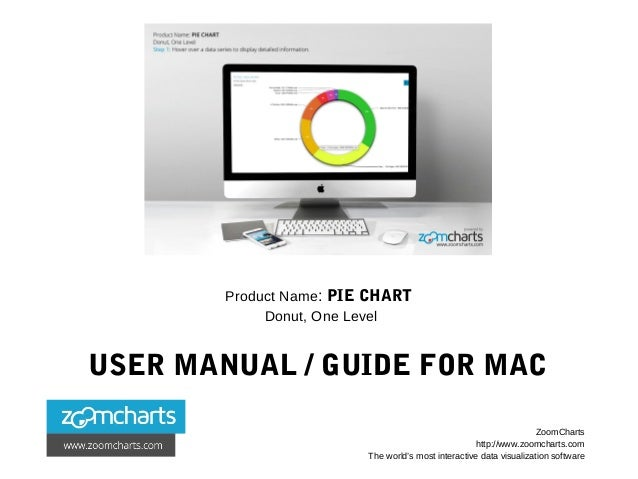 Product Name: PIE CHART Donut, One Level USER MANUAL / GUIDE FOR MAC ZoomCharts http://www.zoomcharts.com The world's most...