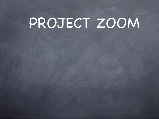 PROJECT ZOOM