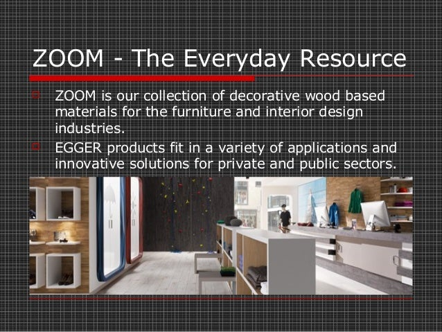 Zoom Interiors by Egger DixiePly