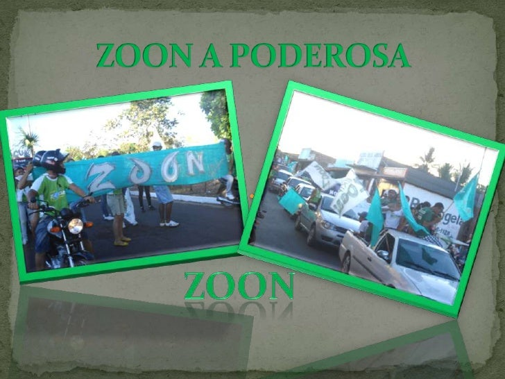 ZOON A PODEROSA<br />ZOON<br />