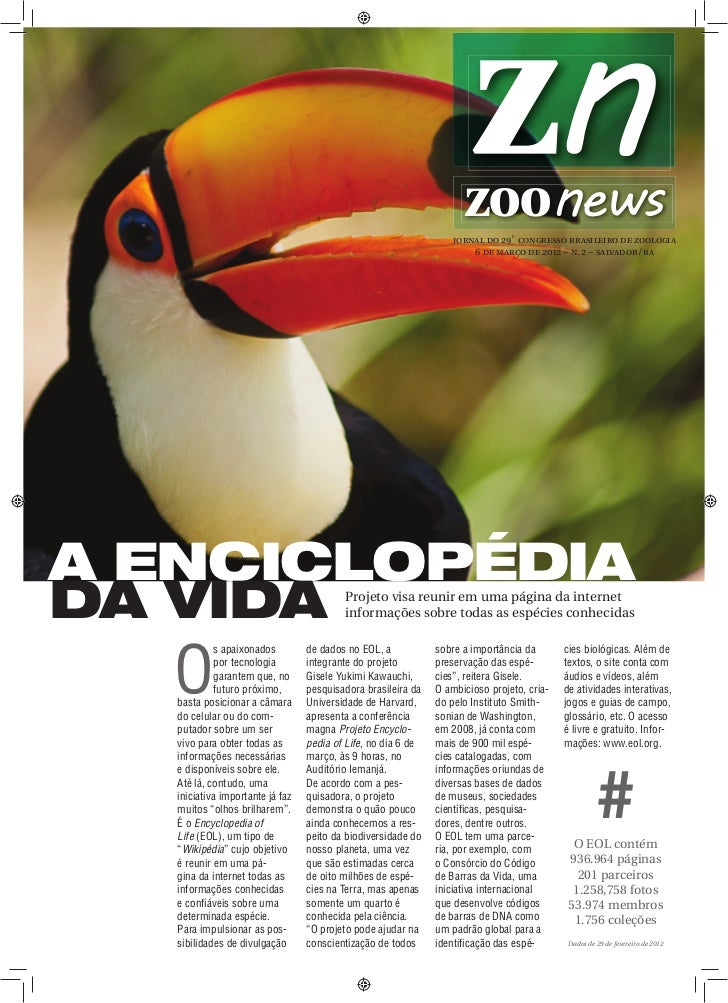 ZOOnews                                                                                      jornal do 29˚ congresso brasi...
