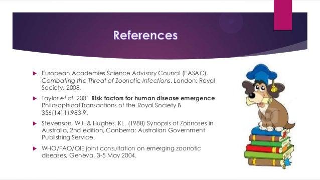 Zoonotic Pathogens Cause Disease In Animals Biology Essay