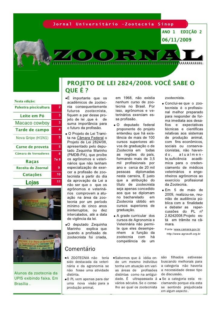 Jornal Universitário -Zootecnia Sinop                                                                                     ...