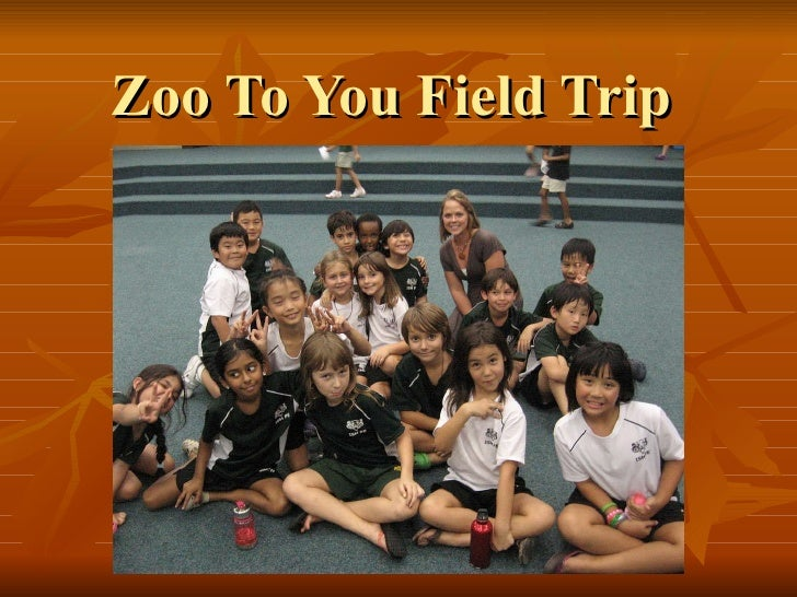 Zoo To You Field Trip