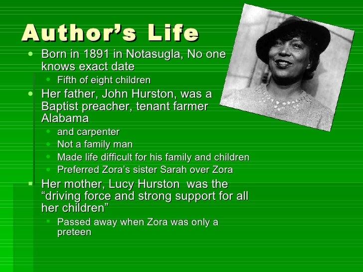 Zora Neale Hurston life and biography