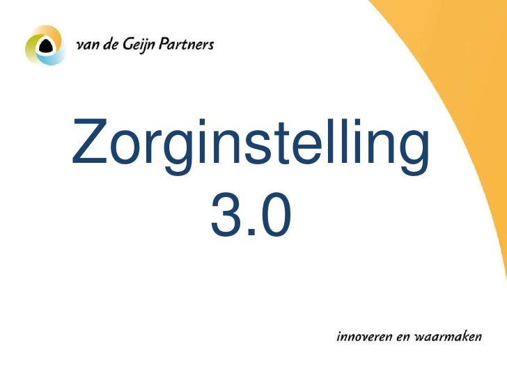 Zorginstelling      3.0