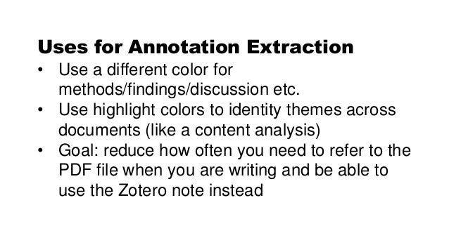 Use Zotero for Your Literature Review