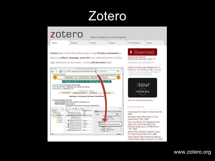 Getting Started with Zotero Slide 3
