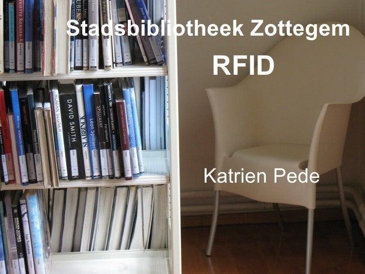 Stadsbibliotheek Zottegem RFID Katrien Pede