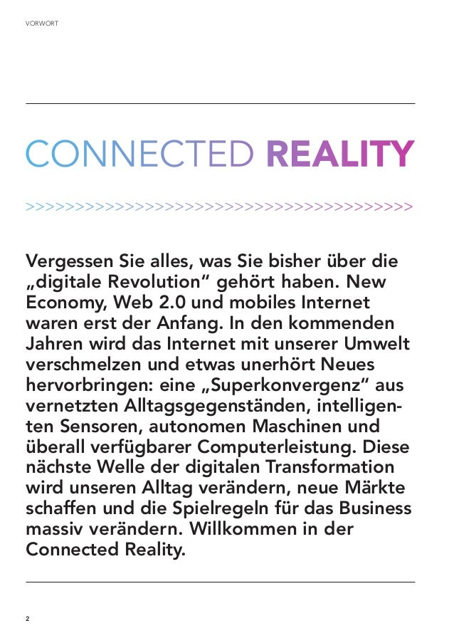 Trendstudie: Connected Reality 2025  Slide 2