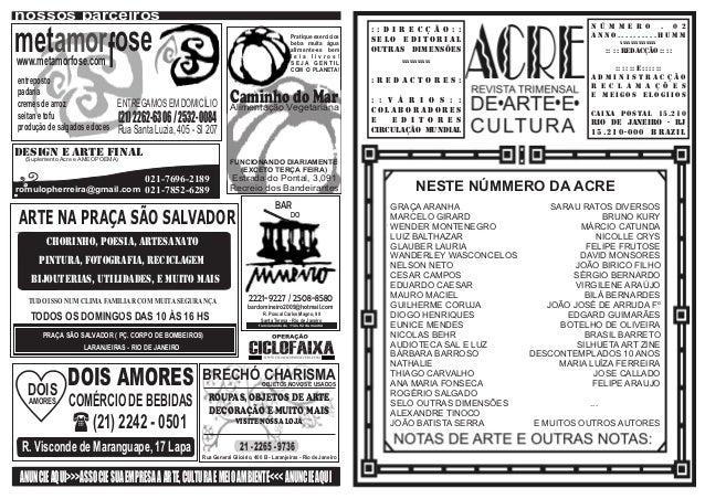 Acre 2ª edição (abril, maio,junho 2012)