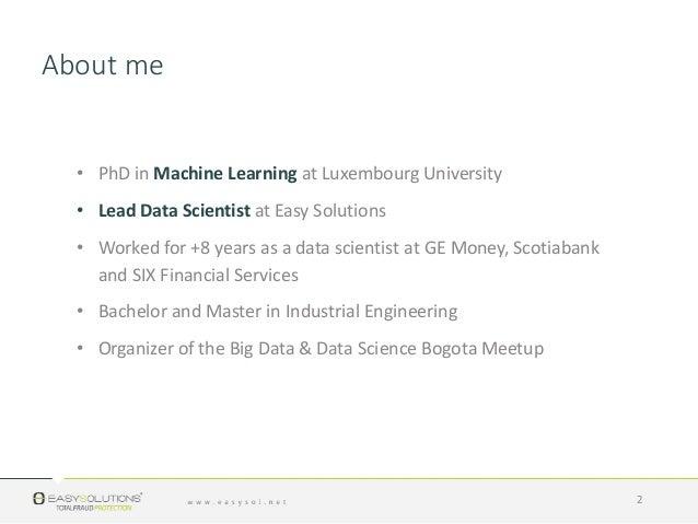 1609 Fraud Data Science Slide 2