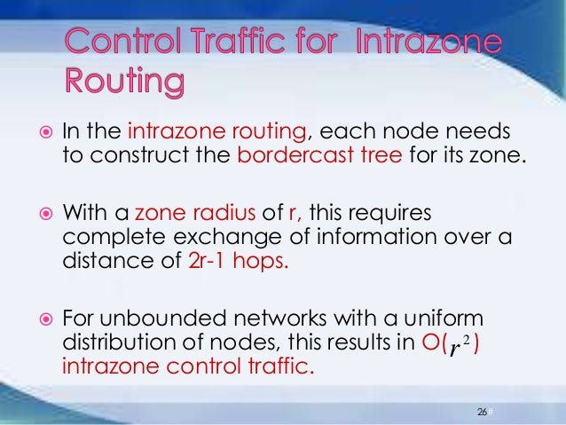 thesis on zone routing protocol The zone routing protocol a routing protocol for manets master thesis by luis gironés quesada – norwegian university of science and technology, may 2007 x.