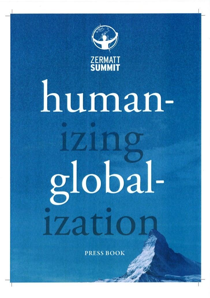 Zermatt Summit Pressbook 2011 - articles on Hernando de Soto, Shirin Ebadi, Jimmi Wales, Fancisco van der Hoff & Mallika S...