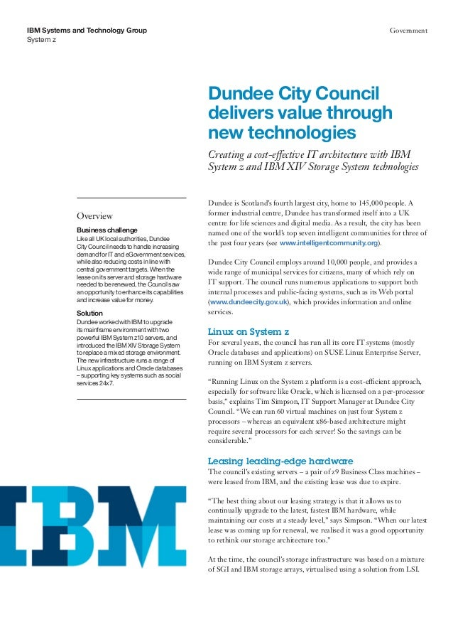 IBM Systems and Technology Group                                                                                       Gov...