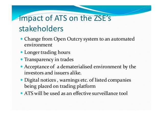 Zimbabwe Stock Exchange Benefits